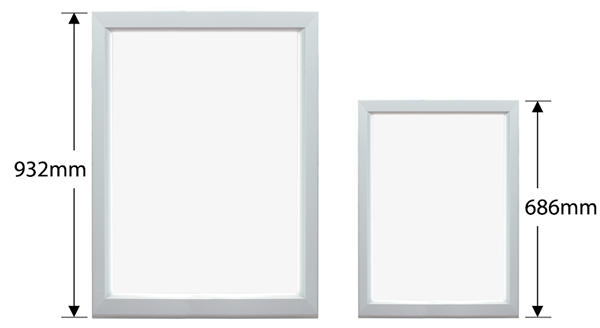 Wall Mount Light Box: Razor Edge Lit Light Box Dimensions,Lighting