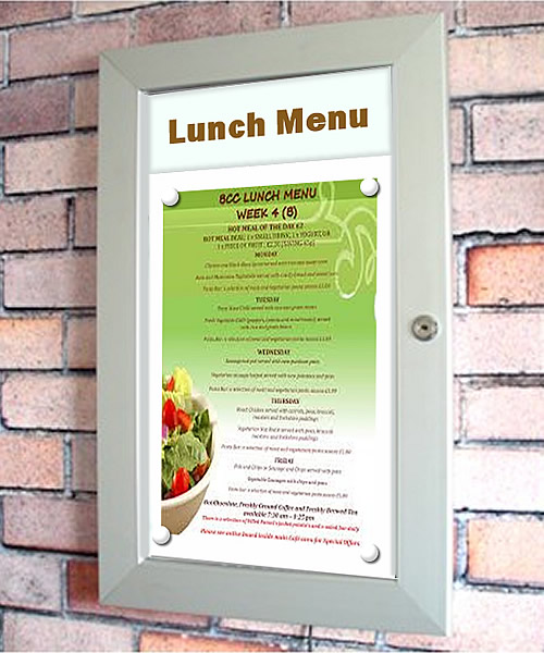 MENU DISPLAY CASES