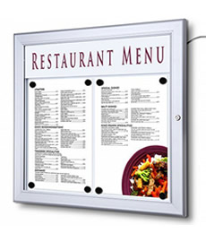 EXTERNAL MENU DISPLAY CASES