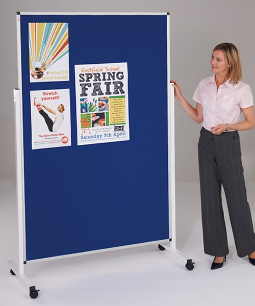 MOBILE & FREESTANDING NOTICEBOARDS