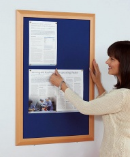 Wood Framed Notice Boards