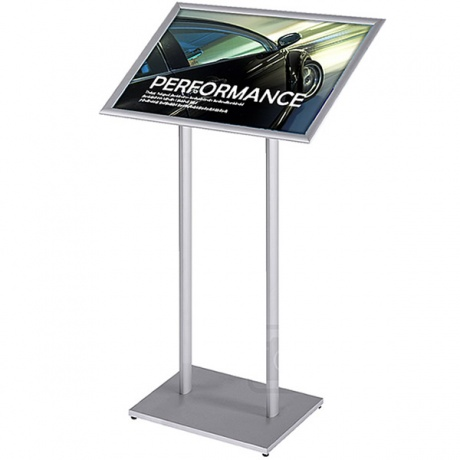 A2 Premium Information Point & Poster Display Stand