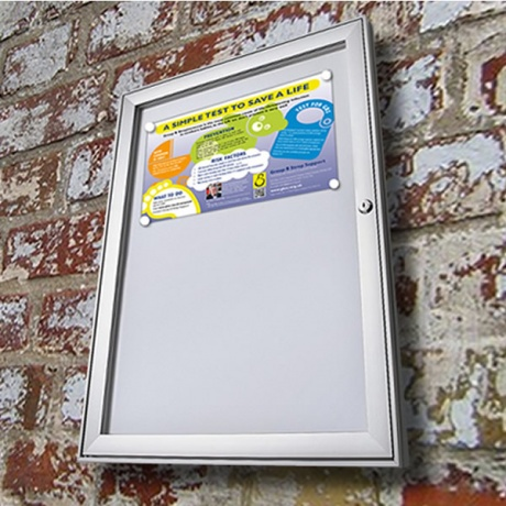 Indoor & Sheltered Outdoor Magnetic Noticeboard