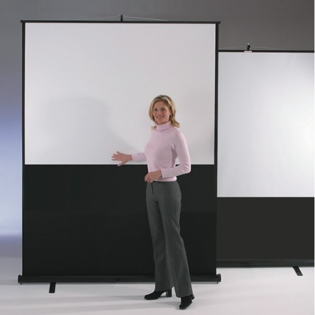 Eyeline Portable Projection Screen - Floor Standing