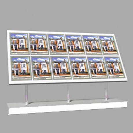 12 x A4 Freestanding Light Panel
