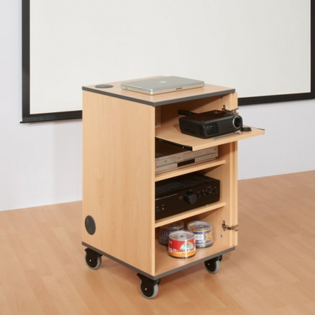 MM80 Multi Media Projector Cabinet - Various Colours