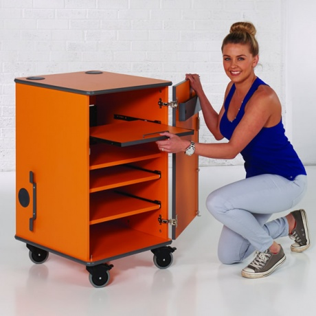 MM100 Multi Media Cabinet - Various Colours