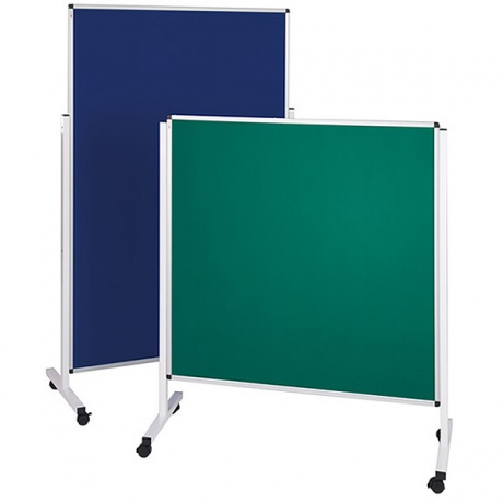 Mobile Noticeboard - Height Adjustable