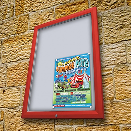 Premium Colour External Noticeboard - IP56 Rated