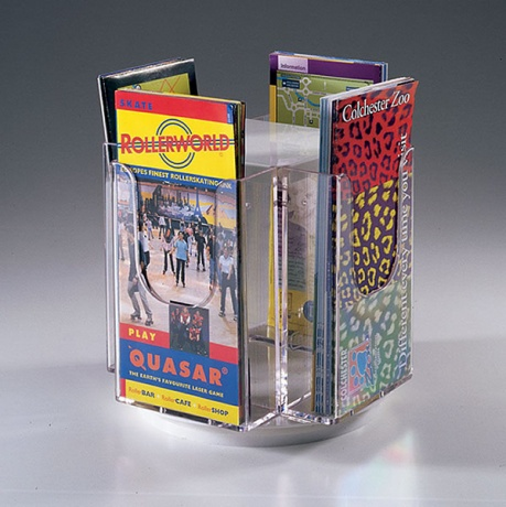 A4/A5/DL Revolving Desktop Literature Dispenser