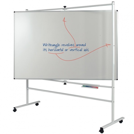 WriteAngle Revolving Mobile Whiteboard