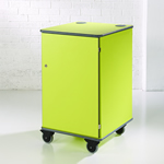 MM100 Colour Multi-Media Cabinet Lime Green