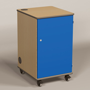 MM80 Multi Media Projector Cabinet Blue