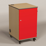 MM80 Multi Media Projector Cabinet Red