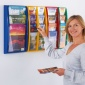 A4/A5/DL Panorama Wall Mounted Literature Display