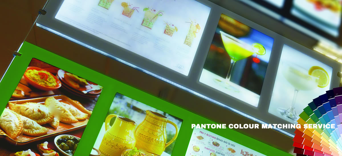 Pantone Matching Colour Service Available