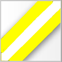 Reflective/Yellow Stripe
