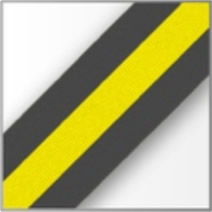 Black Yellow Stripe