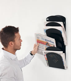 Magazine and Newspaper Holders