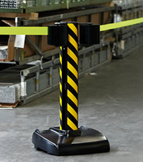 Site Safety Retractable Barriers
