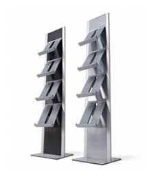 Freestanding Literature Dispensers