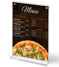 Menu and Leaflet Holders
