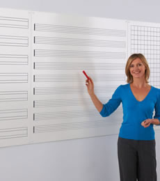 Pre-Printed Whiteboards