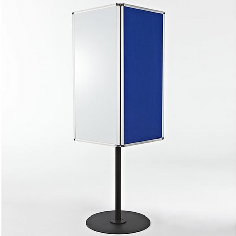 3 Sided Rotating Noticeboard/Whiteboard