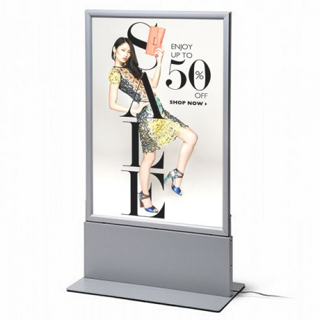 A1 Freestanding Double Sided LED Lightbox