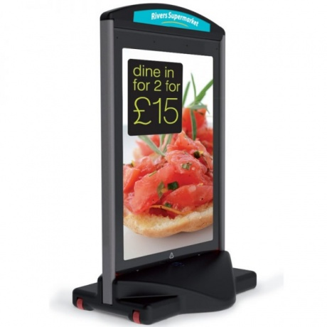 A1 Icon Forecourt Poster Display