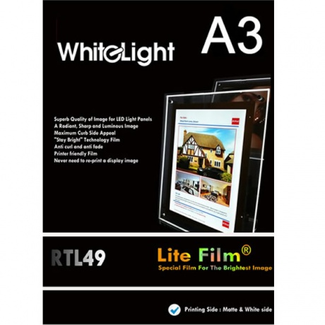 A3  Premium Lite Film | Pack of 50 Sheets
