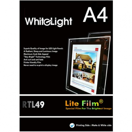 A4  Premium Lite Film | Pack of 50 Sheets