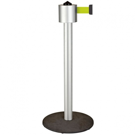 Beltrac StoreTrac Mono Retractable Belt Barrier Post - 12 Metres