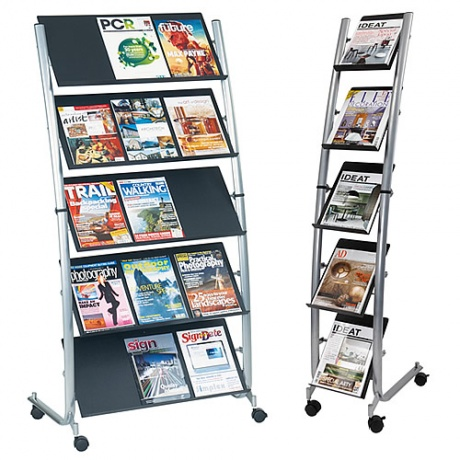5/15 x A4 Cinco Freestanding Literature Dispenser
