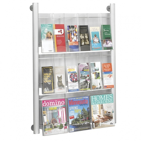 Crest Wall Mounted Literature Dispenser