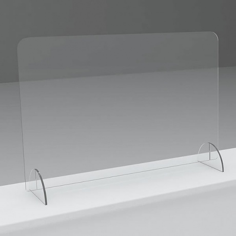 Freestanding Sneeze Screen - 700 H x 1000mm W