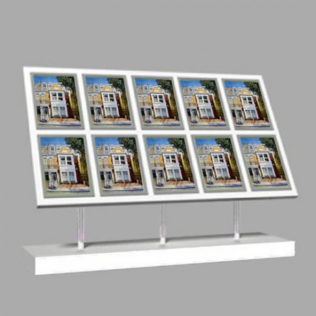 10 x A4 Freestanding Light Panel