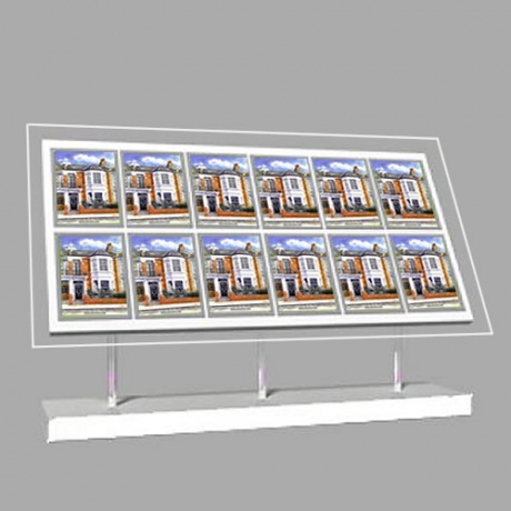 12 x A4 Freestanding Light Panel - With Bevel