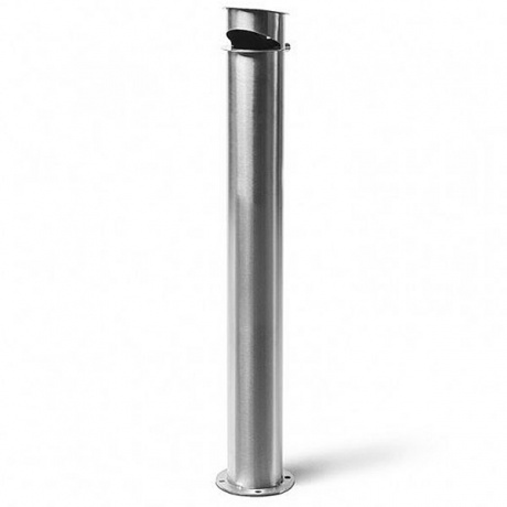 Outdoor Large Cylindrical Ashtray Post