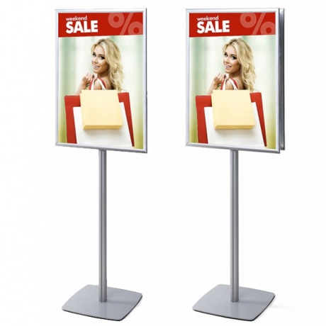 A1/70 x 100cm Info Pole Poster Display | Single & Double Sided