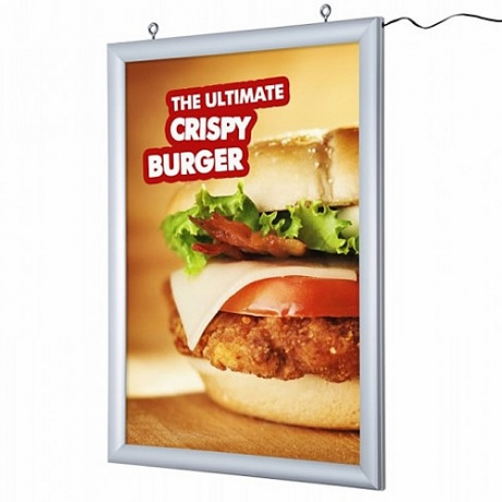 LED Poster Lightbox - Double Sided