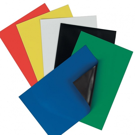 Magnetic A4 Coloured Sheets