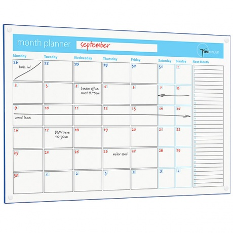 Month Planner Dry Wipe Board