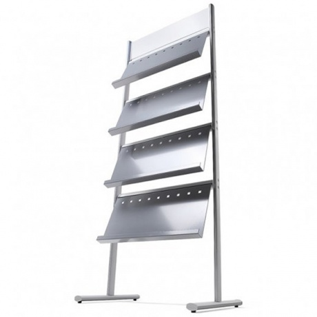 12/24 x A4 Multipocket Literature Stand | Single & Double Sided Display