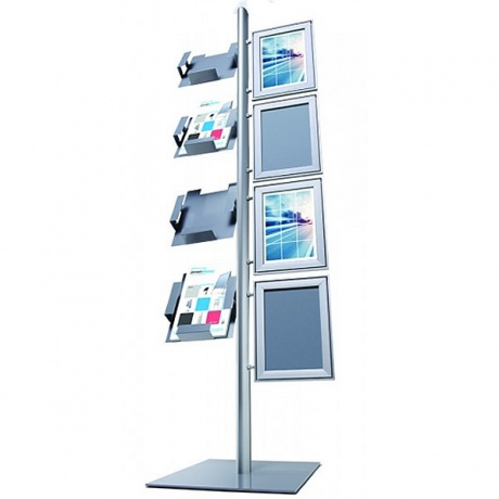 4 x A4 Multi-Stand Display Combination
