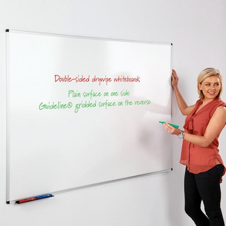 WriteOn Double Sided Whiteboard
