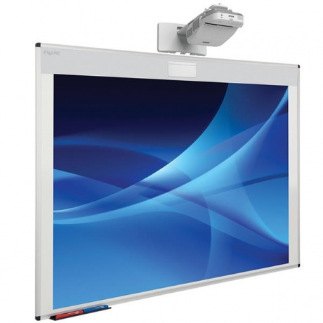 Metroplan Oversize 87'' Projection Whiteboard | For Ultra-short Throw Projectors