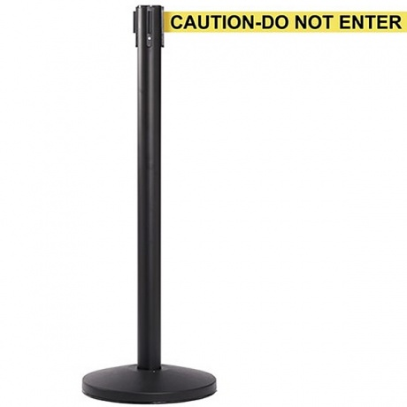 QueueMaster Retractable Belt Barrier Post- 3.4 Metres