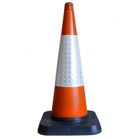 750mm 1-Piece Road Traffic Cone