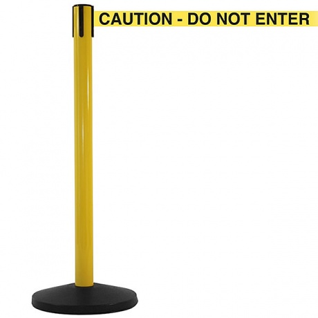 SafetyMaster High Vis Retractable Belt Barrier - 3.4 Metres